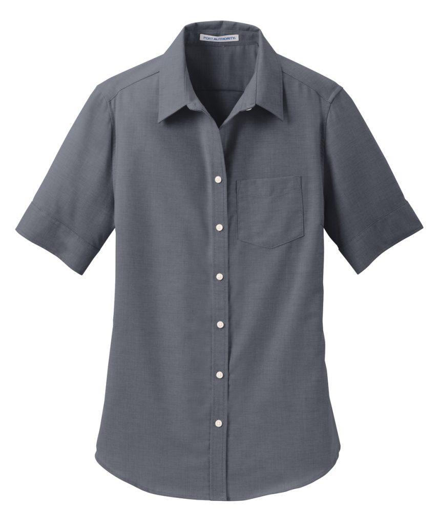 Everyday Ladies Short Sleeve SuperPro™ Oxford Shirt