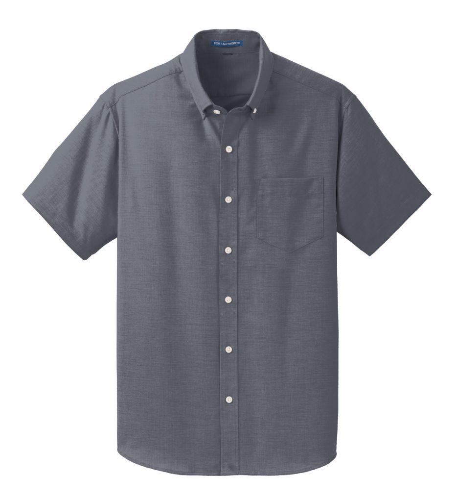 Everyday Men's Short Sleeve SuperPro™ Oxford Shirt