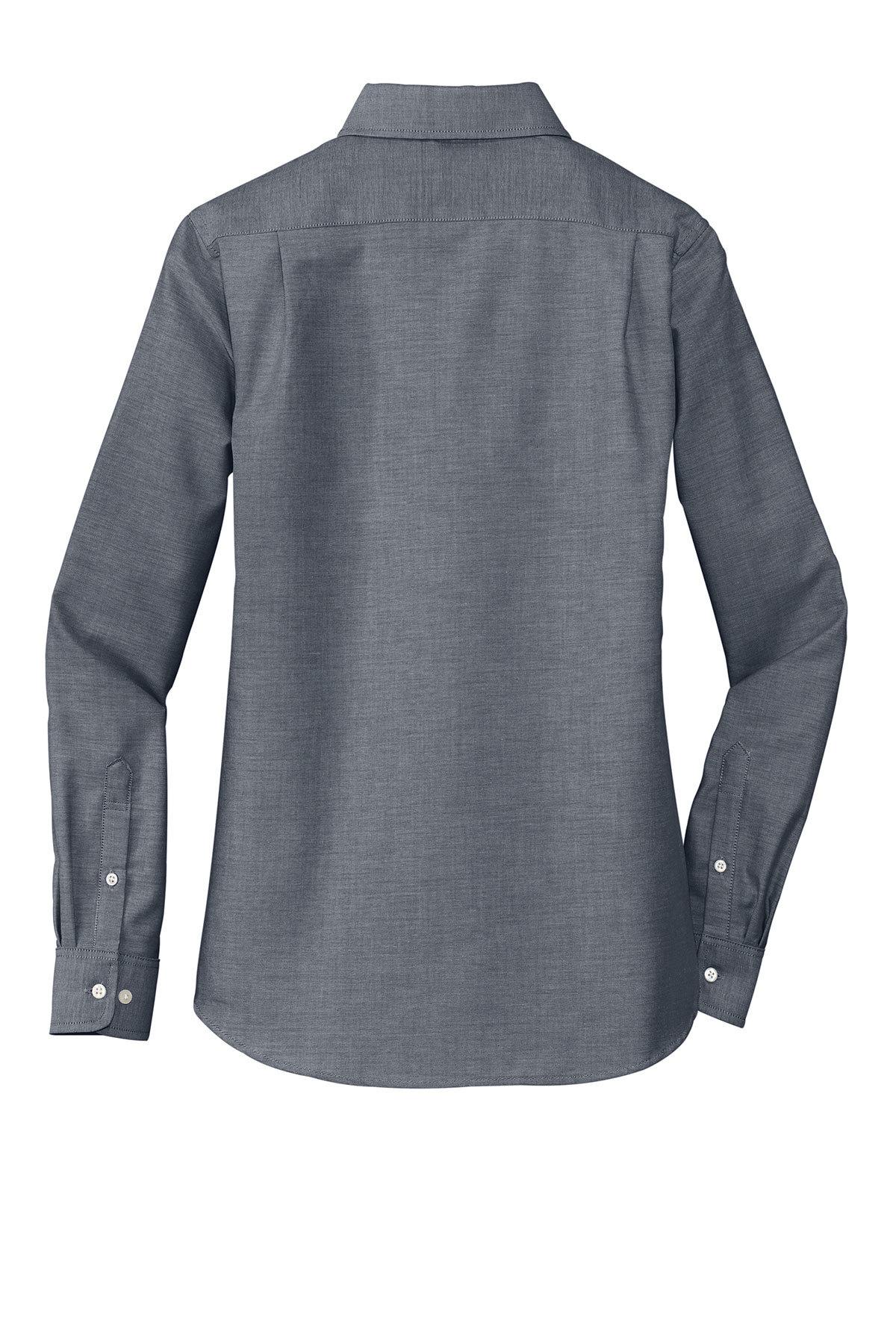 2077ad4588f Port Authority® Ladies SuperPro™ Oxford Shirt - Concept Design ...