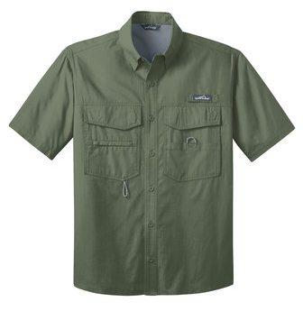 Eddie Bauer® – Short Sleeve Fishing Shirt