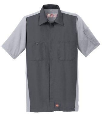 Red Kap® Men's Short Sleeve Ripstop Crew Shirt