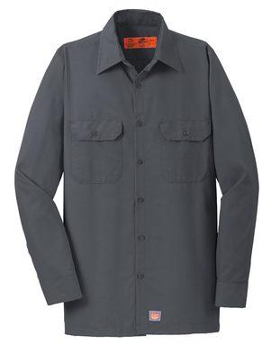Red Kap® Men's Long Sleeve Solid Ripstop Shirt