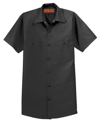 Red Kap® Men's Short Sleeve Industrial Work Shirt