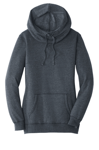 District ® Women's Lightweight Fleece Hoodie