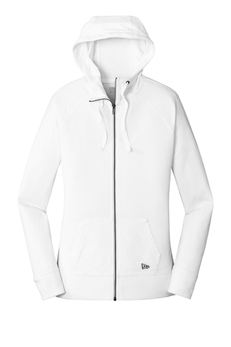 Sueded Cotton Full Zip Hoodie