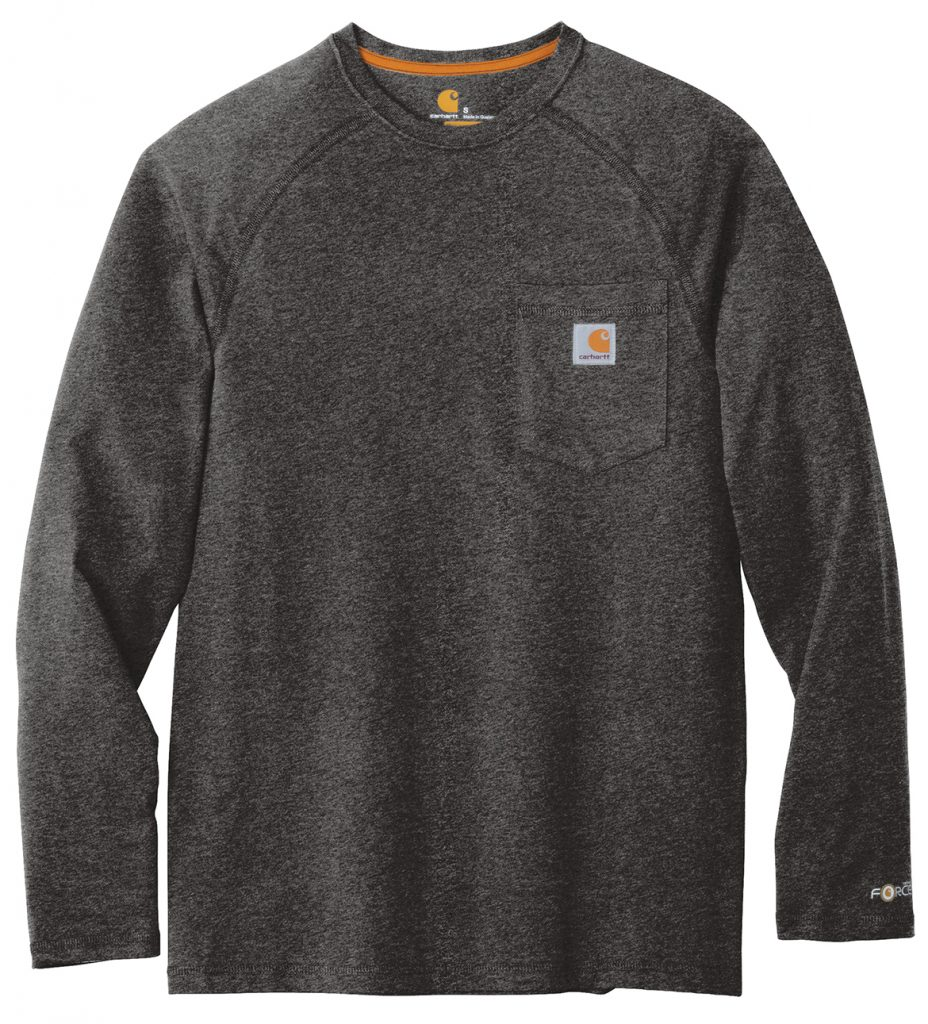 Carhartt Force ®Cotton Delmont Long Sleeve T-Shirt