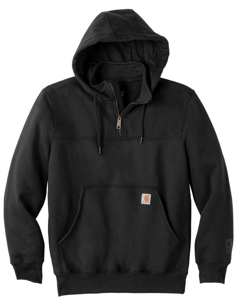 Carhartt ® Rain Defender ® Paxton Heavyweight Hooded Zip Mock Sweatshirt