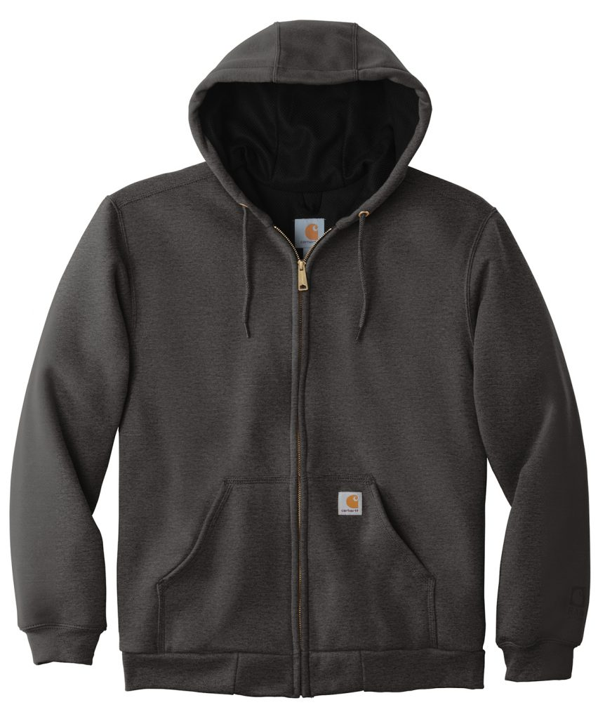 Carhartt ® Rain Defender ® Rutland Thermal-Lined Hooded Zip-Front Sweatshirt