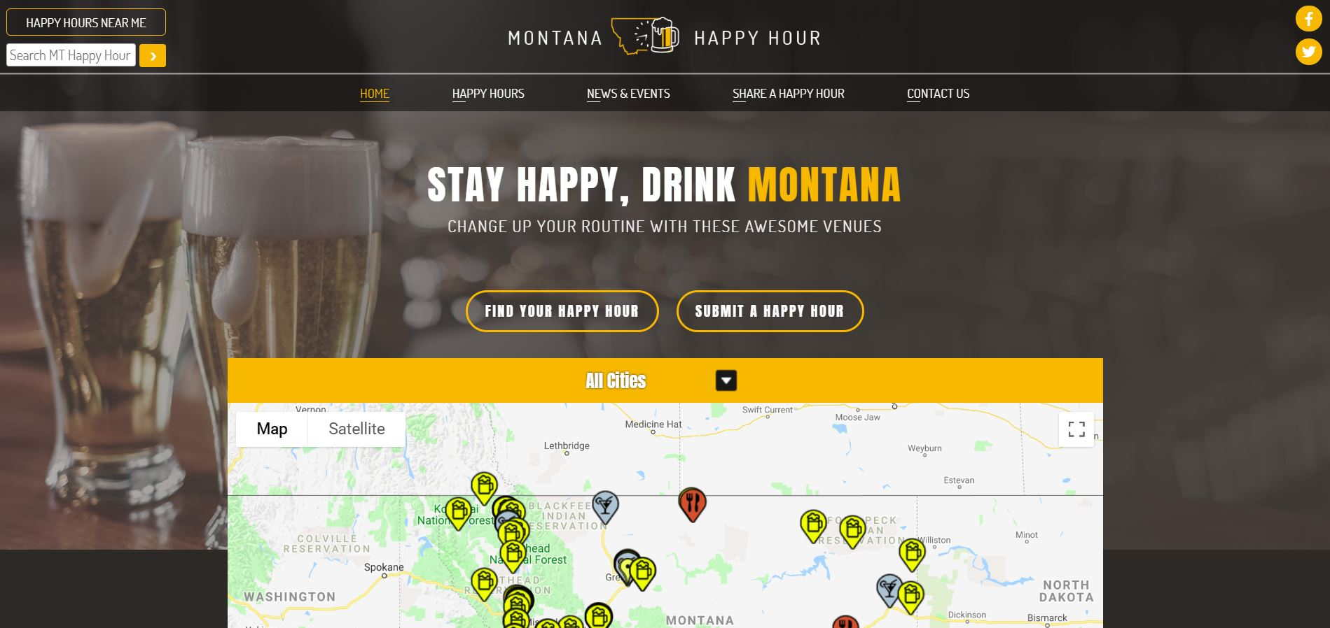 Montana Happy Hour