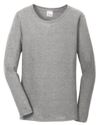 Allmade Ladies Tri-Blend Long Sleeve Crewneck Shirt