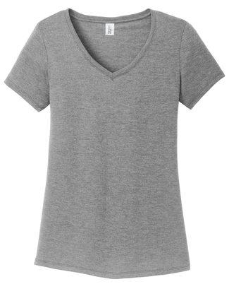 Allmade Ladies Tri-Blend V-neck T-Shirt