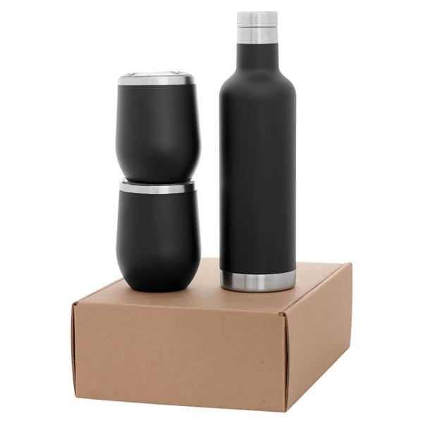 Drinkware Gift Set (2cece mugs + noir )