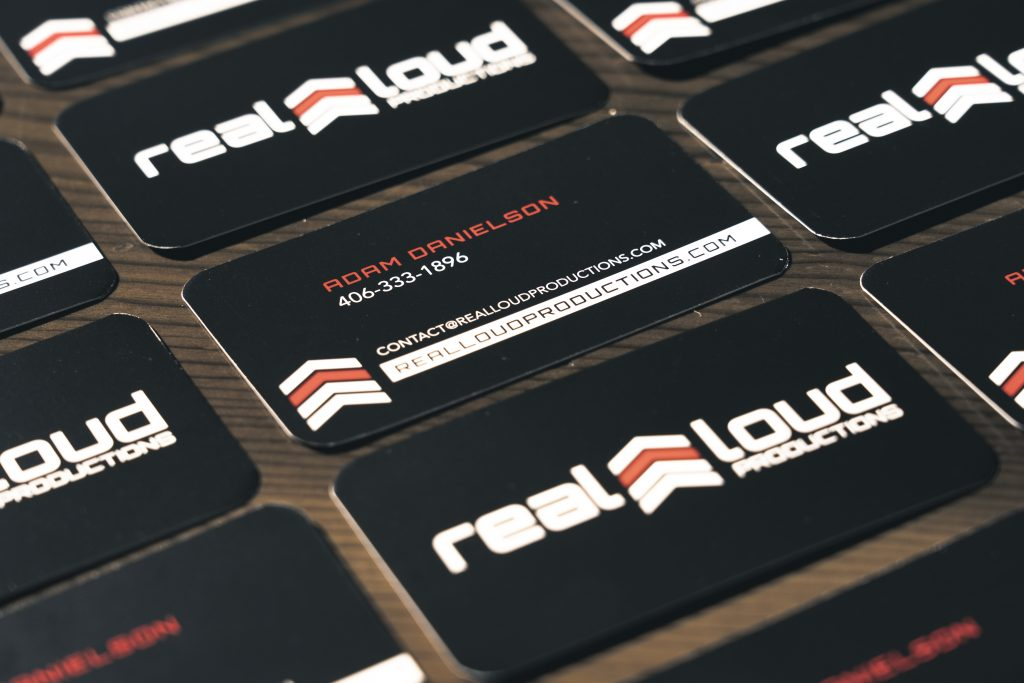 Business Cards: Standard Glossy or Matte