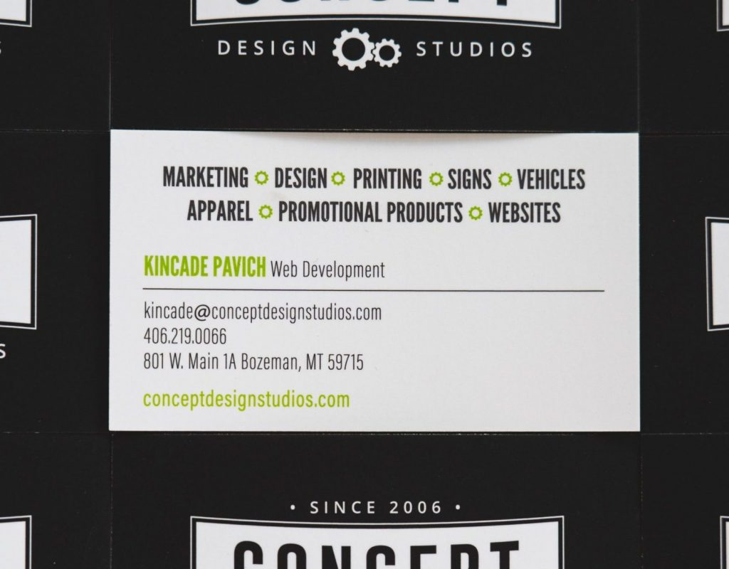 Business Cards: Suede