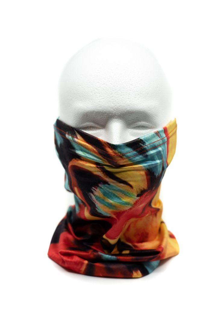 Custom Printed Premium Neck Gaiter Face Mask