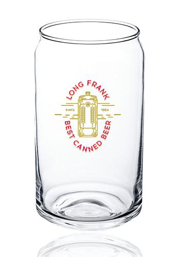 Beer Can Glassware